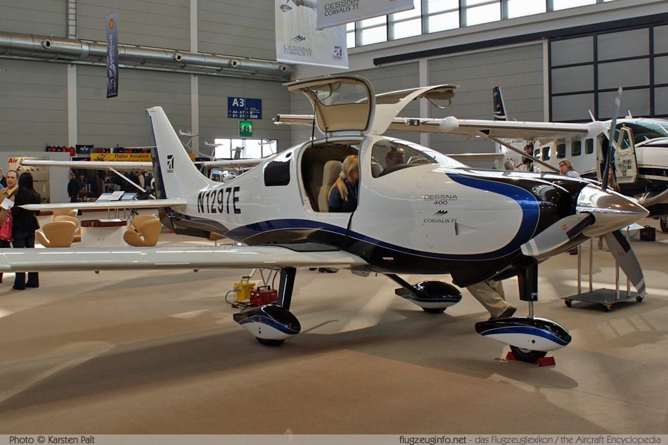Cessna 400 Corvalis TT - Specifications - Technical Data / Description