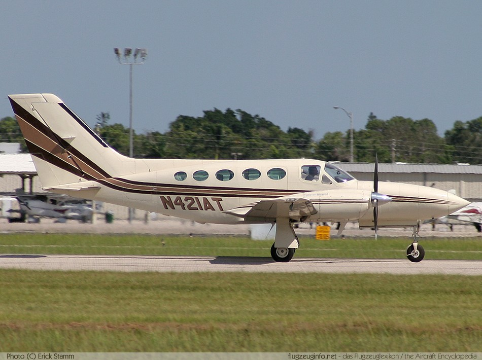 421 Texas Eagle. Cessna 421-B Twin Golden Eagle