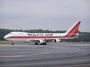 Boeing 747-132(SF), Kalitta Air, N709CK, c/n 20247/159 © Mike Vallentin