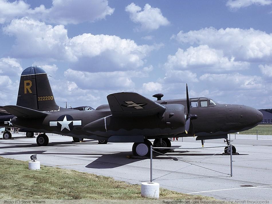 Douglas DB-7 / A-20 Havoc / Boston - Specifications - Technica