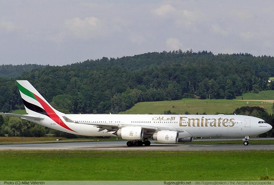 Airbus A340 500 Technische Daten Beschreibung