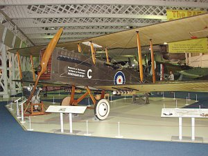 Airco DH-9A, ex Royal AF, Reg. F1010, c/n WA8459AMA, Royal Air Force Museum Lond © Karsten Palt