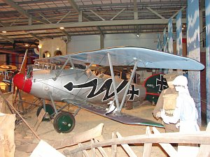 Albatros D.Va, D5397, Replica, Fleet Air Arm Museum © Karsten Palt