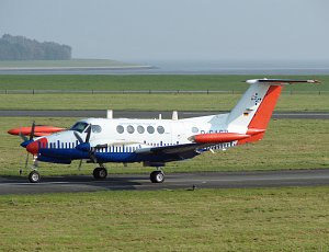 Beech B200T Super King Air, Aerodata Flight Inspection, D-CACB, c/n: BT-27 © Karsten Palt
