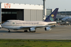 Boeing 747SP HZ-AIF Saudi-Arabian © Mike Vallentin
