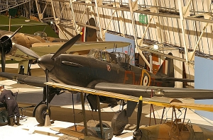 Boulton Paul Defiant I © Simon Thomas