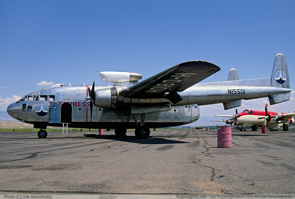 Fairchild C-119 Flying Boxcar - Specifications - Technical ...