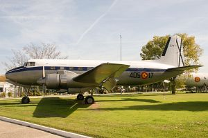 CASA C-207C Azor, Spanish Air Force, T.7-17, 405-17, c/n 17, Museo del Aire Madr © Karsten Palt