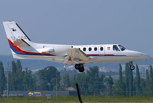 Cessna 500 Citation I © Ondrej Smrtka