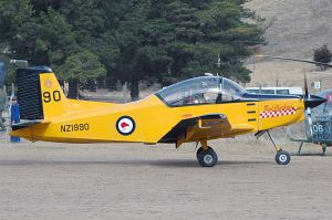 Pacific Aerospace CT-4E Airtrainer © George Canciani