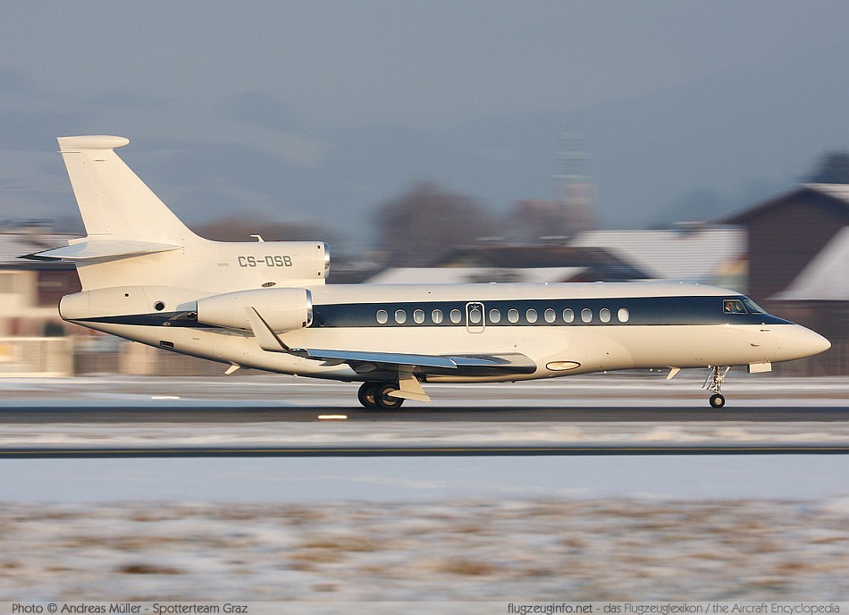 Dassault Falcon 7X - Specifications - Technical Data / Description (