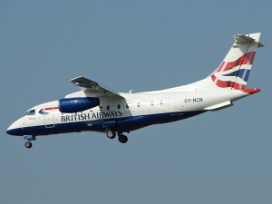 Fairchild-Dornier Do 328-300JET, Sun-Air of Scandinavia / British Airways, OY-NC © Karsten Palt