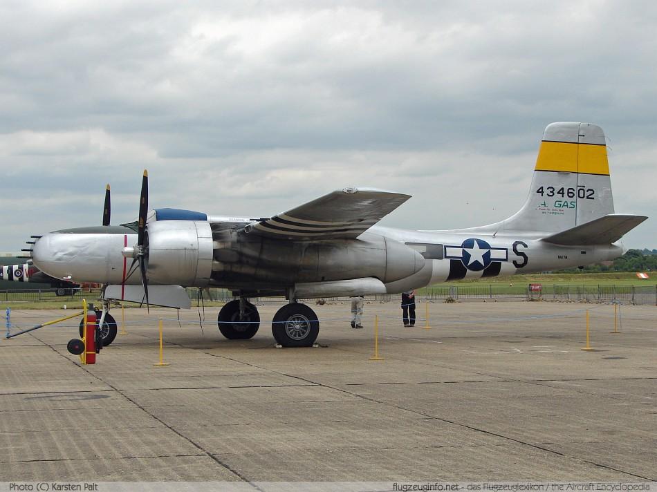 douglas a 26 b 26 invader technische daten beschreibung Martin B-26 Marauder leichter bomber