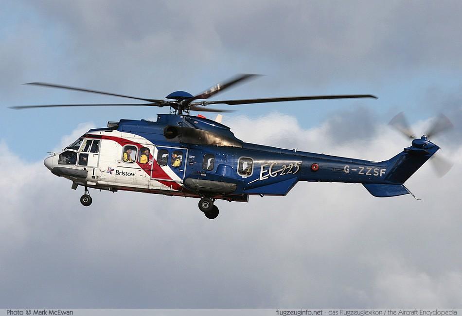 alcanzar estoy enfermo Santuario  Airbus / Eurocopter H225 / EC 225 Super Puma / EC 725 Cougar -  Specifications - Technical Data / Description