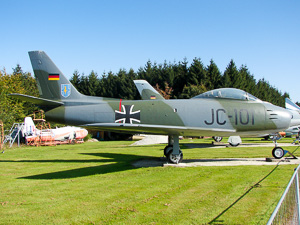 Canadair CL-13B Sabre 6 German Air Force / Luftwaffe JC+101 © Karsten Palt