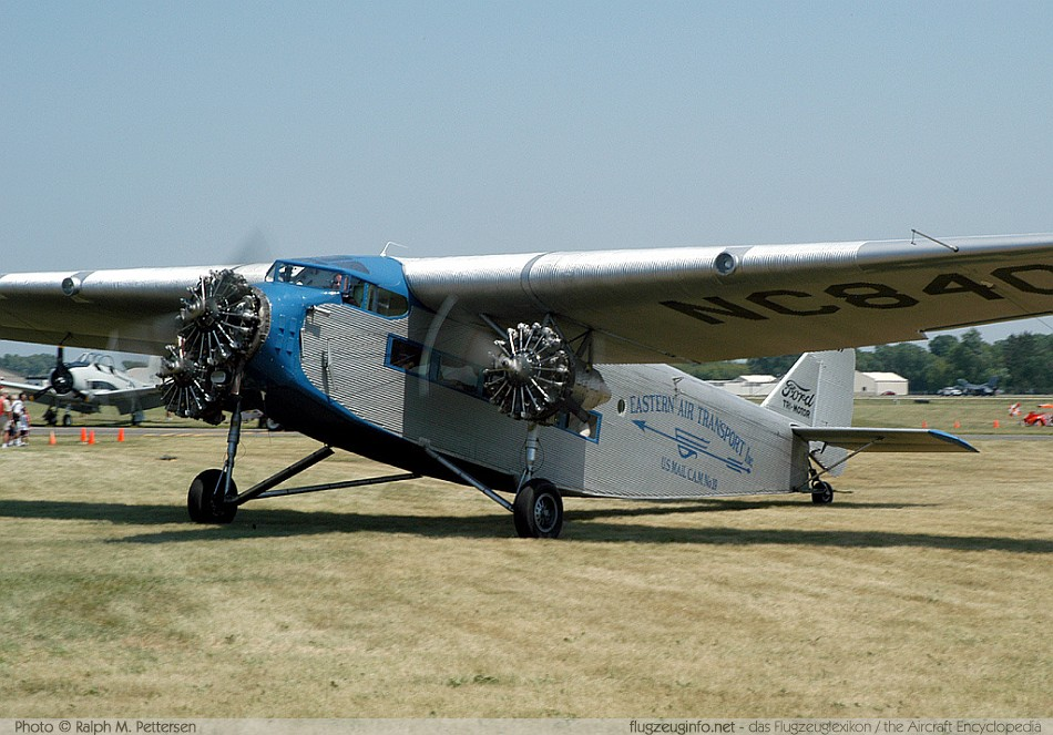 Ford 4-AT / 5-AT TriMotor - Specifications - Technical Data