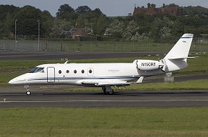 Gulfstream Aerospace G-150 © Alastair T. Gardiner