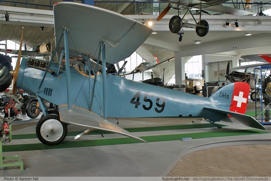 EKW / K+W Häfeli DH-5, Swiss Air Force / Schweizer Luftwaffe