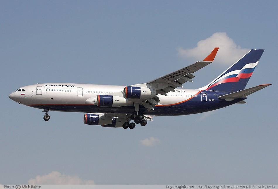Iljuschin / Ilyushin Il-96 - Specifications - Technical ...