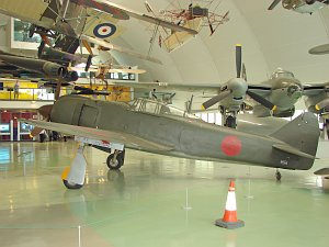 Kawasaki Ki-100-1b, ex Japan AF, Reg.: 24, c/n: 16336, Royal Air Force Museum Lo © Karsten Palt