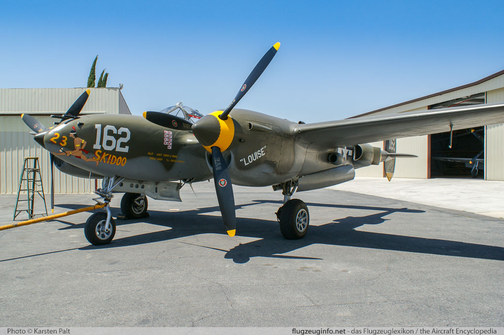 Picture Of Northrop P 61 F Black Widow Night Fighter Reconnaissance