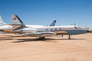 Lockheed VC-140B JetStar (L-1329) United States Air Force (USAF) 61-2489 5022 © Karsten Palt