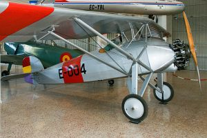 Morane-Saulnier MS.181 Spanish Air Force, E-004, Museo del Aire Madrid © Karsten Palt