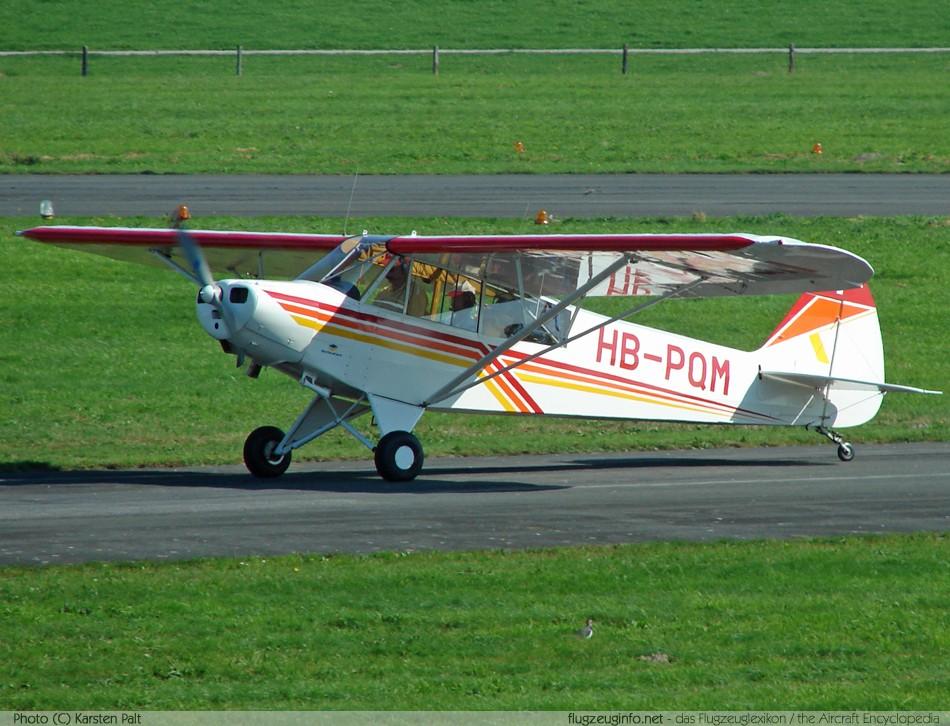 Piper PA-18 Super Cub - Specifications - Technical Data / Description