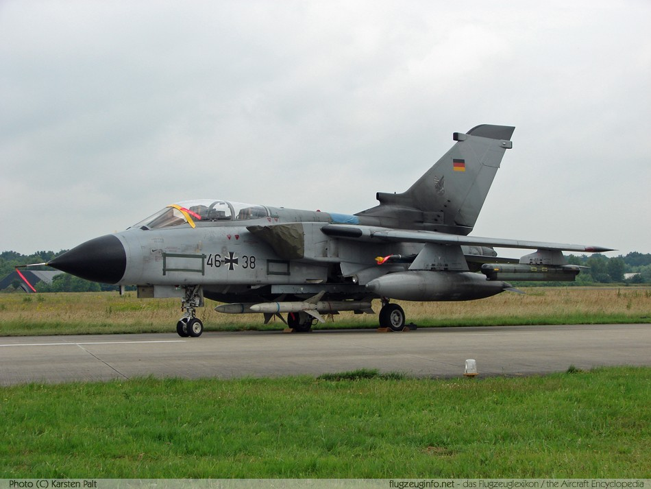 Panavia PA 200 Tornado - Specifications - Technical Data ...