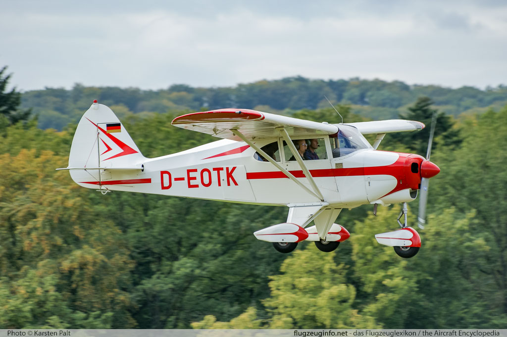 piper pa 20 pacer pa 22 tri pacer specifications technical rh flugzeuginfo net 20 Airplane PA PA 22 Tri-Pacer