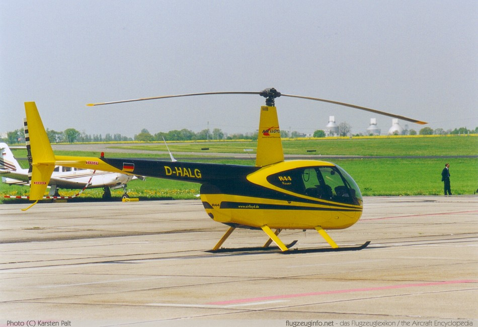 Robinson R44 - Specifications - Technical Data / Description (