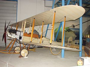 Royal Aircraft Factory, BE.2b, Replica, Royal Air Force Museum London-Hendon © Karsten Palt
