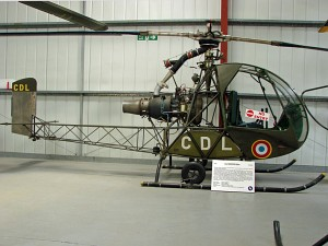 Sud-Ouest / SNCASO, SO-1221 Djinn, ex French Army Aviation, 1058 / CDL, c/n FR10 © Karsten Palt
