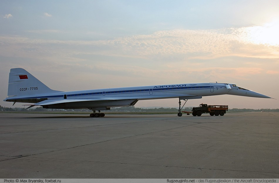 Tupolew / Tupolev Tu-144 - Specifications - Technical Data ...