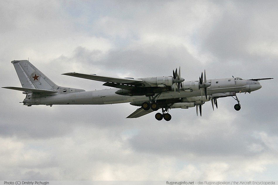 Tupolew tupolev tu 95 specifications technical data