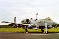 Fairchild Republic A-10A Thunderbolt II United States Air Force (USAF) 81-0963 A10-0658 Open Dagen Koninklijke Luchtmacht 2003 Vliegbais Twente (EHTW / ENS) 2003-06-21, Photo by: Karsten Palt