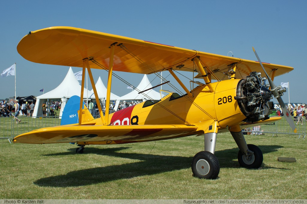 Boeing / Stearman E75N1, , Registrierung N53750, Seriennummer 75