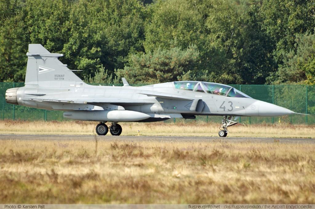 Saab JAS39D Gripen, Hungarian Air Force, Registrierung 43