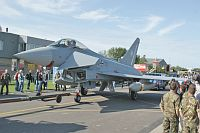 Eurofighter EF2000 Eurofighter Typhoon German Air Force / Luftwaffe 30+70 GS052 Luchtmachtdagen 2011 Leeuwarden (EHLW / LHW) 2011-09-16, Photo by: Karsten Palt
