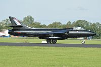 Hawker Hunter PR.11, Privat / Team Viper, G-PRII, c/n 41H/670690,© Karsten Palt, 2011
