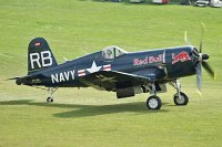 Chance-Vought F4U-4 Corsair, Red Bull Acro Team, OE-EAS, c/n 96995,© Karsten Palt, 2013