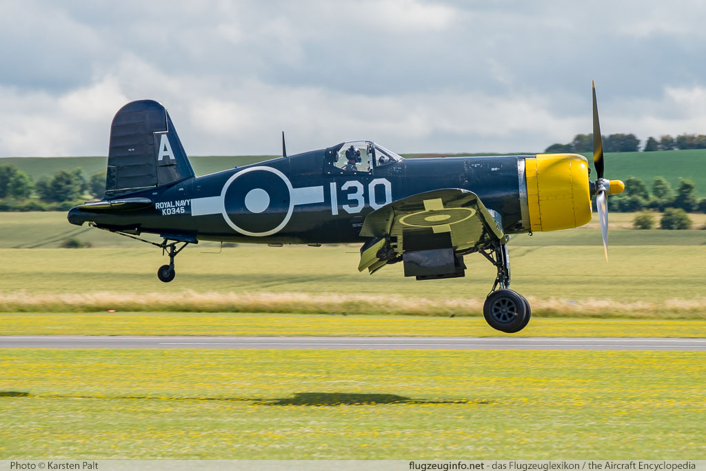 Chance-Vought (Goodyear) FG-1D Corsair The Fighter Collection G-FGID 3111 Flying Legends 2016 Duxford Aerodrome (EGSU / QFO) 2016-07-10 � Karsten Palt, ID 12950