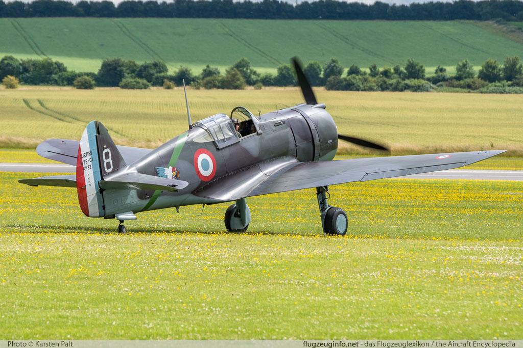 Curtiss Hawk 75A-1 The Fighter Collection G-CCVH 12881 Flying Legends 2016 Duxford Aerodrome (EGSU / QFO) 2016-07-10 � Karsten Palt, ID 12951