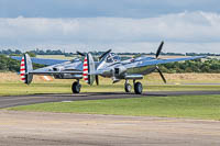 Lockheed P-38L Lightning Flying Bulls N25Y 422-8509 Flying Legends 2016 Duxford Aerodrome (EGSU / QFO) 2016-07-10, Photo by: Karsten Palt
