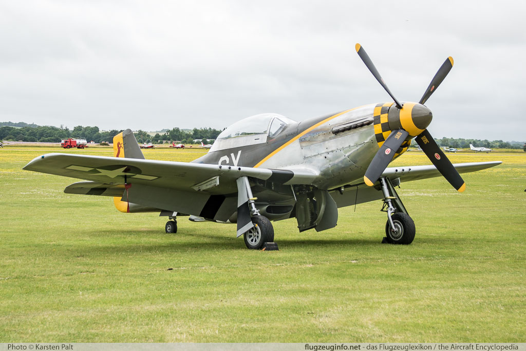 North American P-51D Mustang The Fighter Collection G-TFSI 124-44703 Flying Legends 2016 Duxford Aerodrome (EGSU / QFO) 2016-07-10 � Karsten Palt, ID 13010
