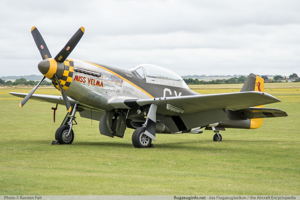 North American P-51D Mustang The Fighter Collection G-TFSI 124-44703 Flying Legends 2016 Duxford Aerodrome (EGSU / QFO) 2016-07-10 � Karsten Palt, ID 13011