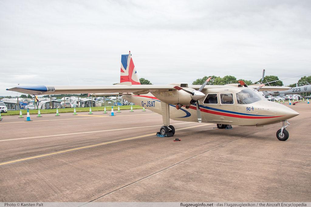 Britten-Norman BN-2 Islander - Specifications - Technical Data