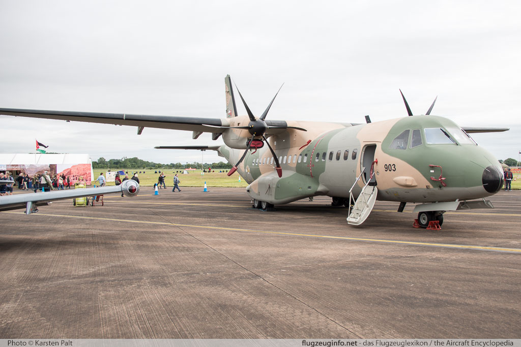 CASA C-295M Royal Air Force of Oman 903 S-108 Royal International Air Tattoo 2016 RAF Fairford (EGVA / FFD) 2016-07-09 � Karsten Palt, ID 12794