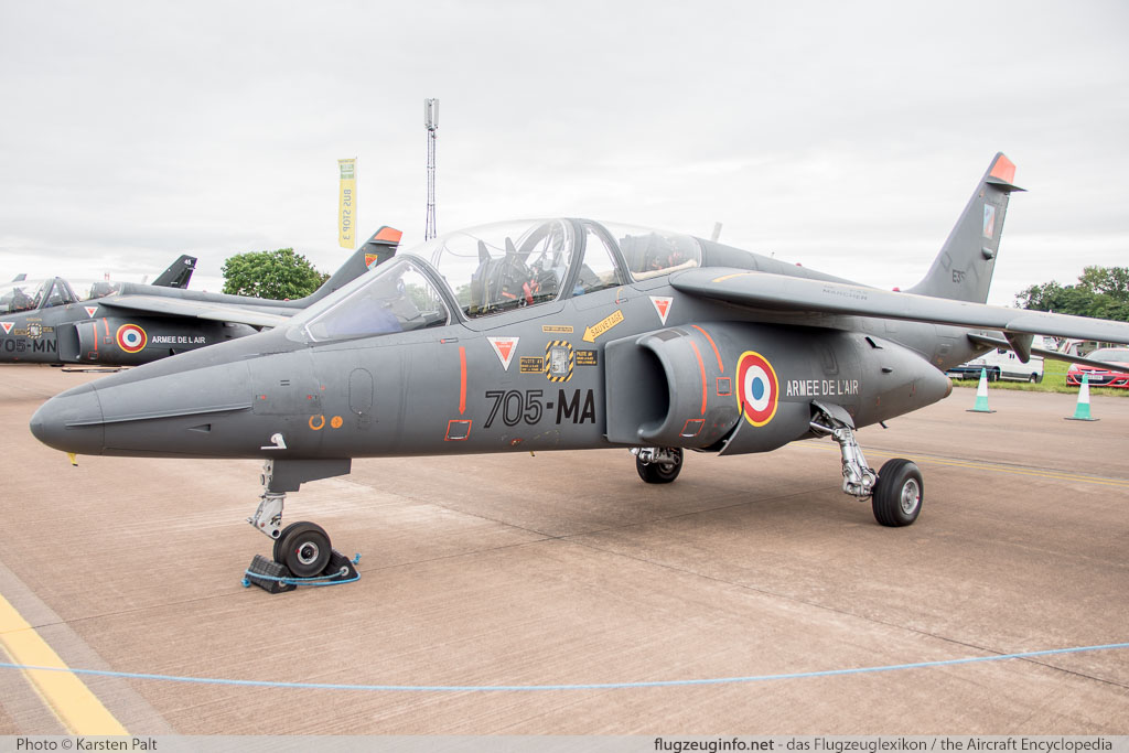 Dassault / Dornier AlphaJet E French Air Force / Armee de l Air E35  Royal International Air Tattoo 2016 RAF Fairford (EGVA / FFD) 2016-07-09 � Karsten Palt, ID 12802