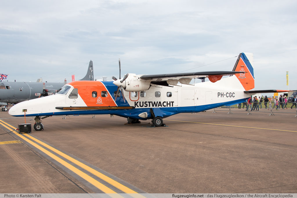 Dornier Do 228-212 Nederlandse Kustwacht / Netherlands Coast Guard PH-CGC 8183 Royal International Air Tattoo 2016 RAF Fairford (EGVA / FFD) 2016-07-09 � Karsten Palt, ID 12815
